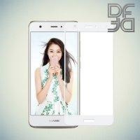DF Закаленное защитное стекло на весь экран для Huawei nova - Белый