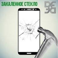 DF Закаленное защитное стекло на весь экран для Huawei Nova 2i - Черный