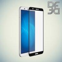 DF Закаленное защитное стекло на весь экран для Huawei P Smart - Черный