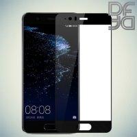 DF Закаленное защитное стекло на весь экран для Huawei P10 - Черный