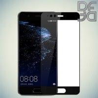 DF Закаленное защитное стекло на весь экран для Huawei P10 Plus - Черный