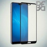 DF Закаленное защитное стекло на весь экран для Huawei P20 Lite - Черный