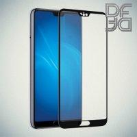DF Закаленное защитное стекло на весь экран для Huawei P20 Pro - Черный