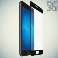 DF Закаленное защитное стекло на весь экран для Meizu MX6 - Черный