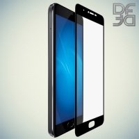 DF Закаленное защитное стекло на весь экран для Meizu U10 - Черный
