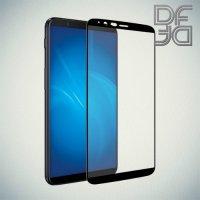 DF Закаленное защитное стекло на весь экран для OnePlus 5T - Черный