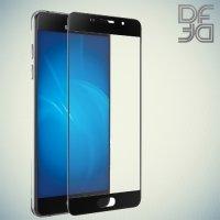 DF Закаленное защитное стекло на весь экран для Samsung Galaxy A3 2016 SM-A310F - Черный