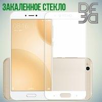 DF Закаленное защитное стекло на весь экран для Xiaomi Mi 5c - Белый