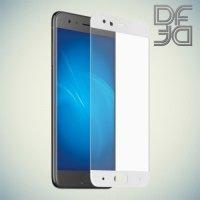 DF Закаленное защитное стекло на весь экран для Xiaomi Mi 6 - Белый