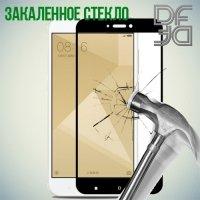 DF Закаленное защитное стекло на весь экран для Xiaomi Redmi 4X - Черный