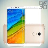 DF Закаленное защитное стекло на весь экран для Xiaomi Redmi 5 - Белый
