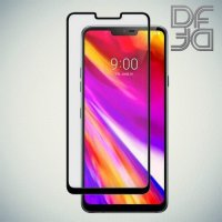DF Защитное стекло для Asus Zenfone Max Pro M2 ZB631KL черное