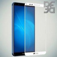 DF Защитное стекло для Huawei Honor 7A Pro / 7C / Huawei Y6 Prime 2018  белое