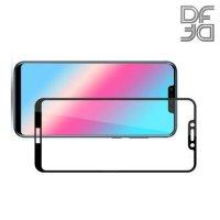 DF Защитное стекло для Huawei Honor Play черное