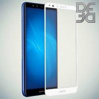 DF Защитное стекло для Huawei Y9 2018 белое