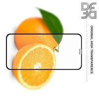 DF Защитное стекло для iPhone XR черное