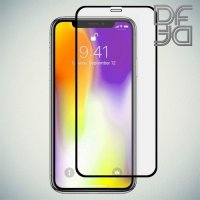 DF Защитное стекло для iPhone 11 Pro Max / XS Max черное