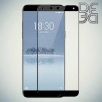 DF Защитное стекло для Meizu 15 Plus черное