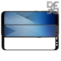 DF Защитное стекло для Samsung Galaxy A6 2018 SM-A600F черное