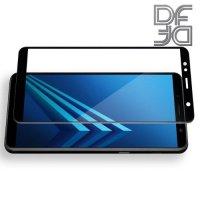 DF Защитное стекло для Samsung Galaxy A6 Plus 2018 черное