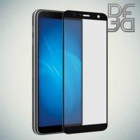 DF Защитное стекло для Samsung Galaxy J4 Plus / J6 Plus черное