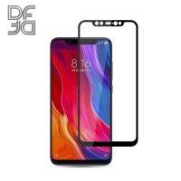 DF Защитное стекло для Xiaomi Mi 8 черное