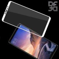 DF Защитное стекло для Xiaomi Mi Max 3 белое