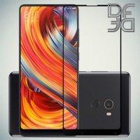 DF Защитное стекло для Xiaomi Mi Mix 2s черное