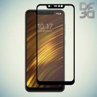 DF Защитное стекло для Xiaomi Pocophone F1 черное