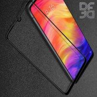 DF Защитное стекло для Xiaomi Redmi 7 черное