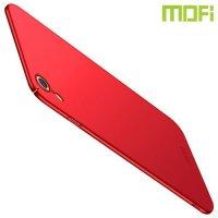 Mofi Slim Armor Матовый жесткий пластиковый чехол для iPhone XR - Красный