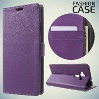 Fasion Case чехол книжка флип кейс для Asus Zenfone 3 ZE520KL - Фиолетовый