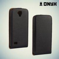 Флип чехол книжка для Huawei Y5 - Черный