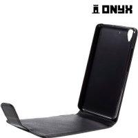 Флип чехол книжка для Huawei Y6 - Черный