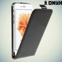 Флип чехол книжка для iPhone 6S / 6 - Черный