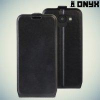 Флип чехол книжка для LG K3 2017 - Черный