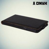 Флип чехол книжка для Samsung Galaxy A7 - Черный
