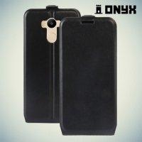 Флип чехол книжка для Xiaomi Redmi 4 Pro / Redmi 4 - Черный