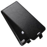 Флип чехол книжка вертикальная для HTC Desire 12 Plus - Черный