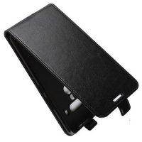 Флип чехол книжка вертикальная для HTC U12 Plus - Черный