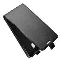 Флип чехол книжка вертикальная для Samsung Galaxy J6 Plus - Черный