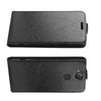 Флип чехол книжка вертикальная для Sony Xperia XA2 - Черный