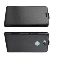 Флип чехол книжка вертикальная для Sony Xperia XA2 Plus - Черный