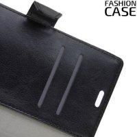 Flip Wallet чехол книжка для BlackBerry Motion - Черный