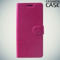 Flip Wallet чехол книжка для Huawei Honor 8X - Розовый