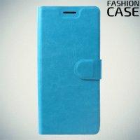 Flip Wallet чехол книжка для Huawei Honor 8X - Голубой