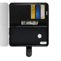 Flip Wallet чехол книжка для Huawei Honor 8X - Черный