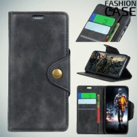 Flip Wallet чехол книжка для Huawei Mate 20 Pro - Черный