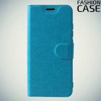 Flip Wallet чехол книжка для Xiaomi Redmi 6 Pro / Mi A2 Lite - Голубой