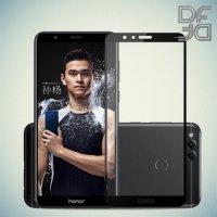 Full Glue Screen DF Защитное Закаленное Олеофобное Стекло для Huawei Honor 7X черное